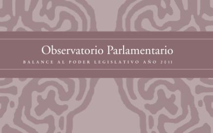 balance al poder legislativo