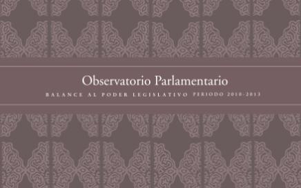 BALANCE AL PODER LEGISLATIVO PERIODO 2010-2013 tapa