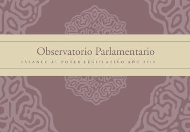 Balance al Poder Legislativo 2010 tapa