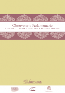 Balance al Poder Legislativo Periodo 2006-2009
