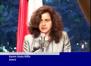 Acto de reconocimiento público realizado por el Estado de Chile a Karen Atala