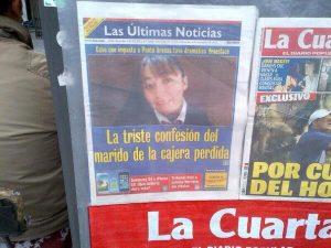 """Vania, te amo"": Historia y cobertura de un femicidio"
