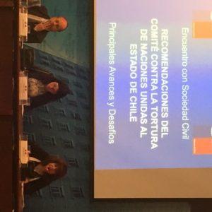 Recomendaciones del Comité contra la Tortura de Naciones Unidas al Estado de Chile: Principales Avances y Desafíos.