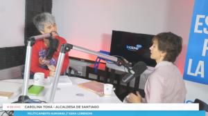 Políticamente Humanas, // Carolina Tohá, Alcaldesa de Santiago// Domingo 29 Noviembre
