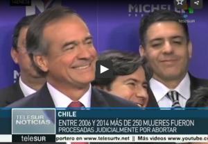 Chile, sectores legislativos obstaculización despenalización del aborto