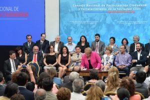 Presentan el Consejo Nacional de Participación Ciudadana y Fortalecimiento de la Sociedad Civil