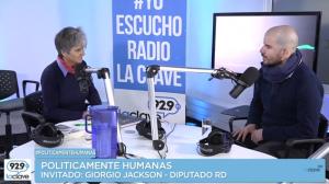 #PoliticamenteHumanas, Giorgio Jackson // Domingo 22 de Mayo