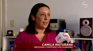 Camila Maturana, se refiere a denuncia de discriminación en casa de estudios.
