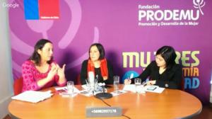 Conversatorio Violencia de Género, Fundación PRODEMU