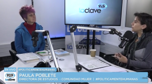 #PoliticamenteHumanas // Domingo 26 de Junio: Invitados Paula Poblete y Pedro Goic.