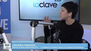 #PoliticamenteHumanas // Javiera Parada // Domingo 3 de Julio