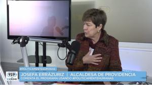 #PoliticamenteHumanas Josefa Errázuriz, Domingo 4 de Septiembre