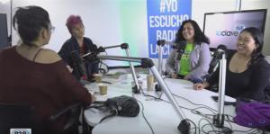 #PoliticamenteHumanas Marisela Santibáñez, Claudia Lange y Doris González /Domingo 25 septiembre