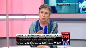 Gloria Maira por aborto: «La causal de violación es la que más dificultades tiene para aprobarse»