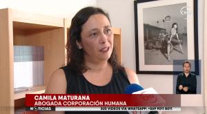 """Camila Maturana: """"Estamos hablando que la persona elegida para agasajar a las mujeres es un violador"""""""
