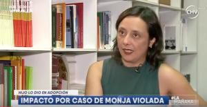 """Abogada Camila Maturana: """"Buscamos reparación por daño causado a hermana Francisca""""."""