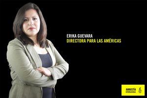 """Erika Guevara de AI: """"Chile es uno de los países más contradictorios de la región"""""""