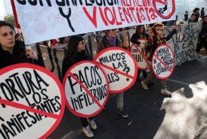 Protesta social y violencia hacia las mujeres
