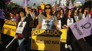 Nueve de cada diez chilenas admiten haber sufrido episodios de acoso sexual