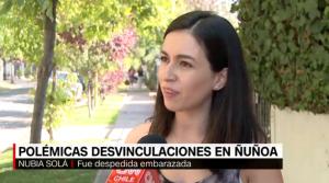 Carolina Carrera, Presidenta de Corporación Humanas se refiere a polémicas desvinculaciones en Ñuñoa