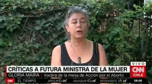 Vocera Mesa de Acción por el Aborto: «Isabel Plá deberá respetar el mandato ciudadano»