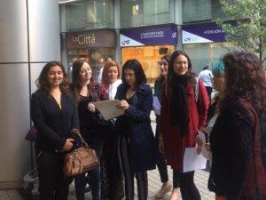 Diputada Cariola e integrantes de organizaciones de mujeres exigen que superintendencia de salud garantice cumplimiento de la ley de interrupción voluntaria del embarazo