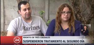 Joven denuncia que le negaron aborto en Quilpué: «No se imaginan el dolor que me provocaron»