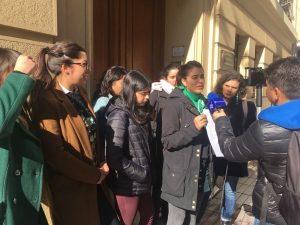Feministas chilenas llaman a diputados argentinos a aprobar Ley de Aborto