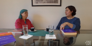 """#Políticamente Humanas Mireya García: """"La derecha está desatadamente comprometida con lo que fue la dictadura"""""""