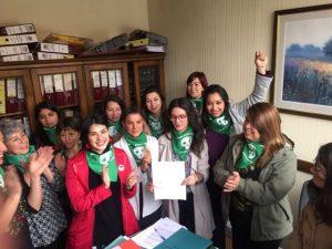 Corporación Humanas y MAACH junto a diputadas de oposición presentan proyecto de despenalización del aborto por decisión de las mujeres