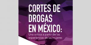 Cortes de Drogas refuerzan discriminación y la violencia contra las mujeres