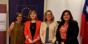 ComunidadMujer y Corporación Humanas firman inédito convenio con la Unión Europea para la creación de una plataforma transversal de organizaciones de mujeres