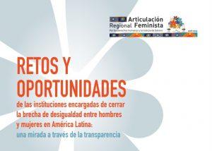 Organizaciones feministas presentan investigación sobre instituciones de igualdad, transparencia y políticas de género en América Latina