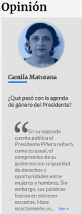 Opinión: ¿Qué pasó con la agenda de género del Presidente?
