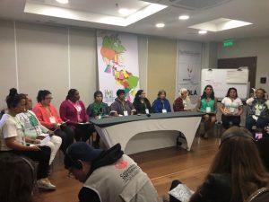 Mujeres de las Américas que han estado en prisión conectan en el primer taller regional