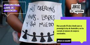 JUNTAS EN ACCIÓN: Organizaciones de mujeres se unen en inédita plataforma para impulsar derechos sociales, económicos y políticos