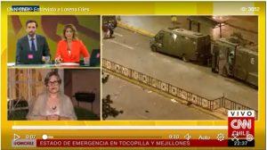 """Lorena Fries: """"Me han hablado de 8 detenidos de los que no se sabe su paradero"""""""