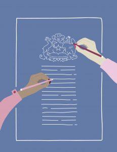 Discusión constitucional: Nunca más sin nosotras
