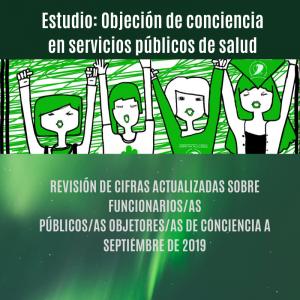 Estudio: Objeción de conciencia en servicios públicos de salud