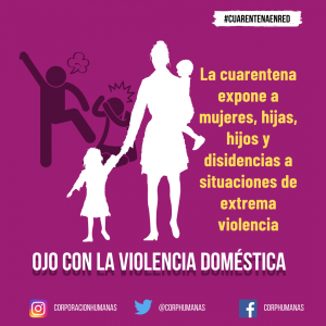 Orientaciones ante casos de violencia contra mujeres y niñas. Entre todas nos cuidamos: #CuarentenaEnRed