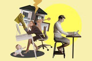 Corresponsabilidad en cuarentena: Los hombres sobreestiman la cantidad de trabajo doméstico a su cargo