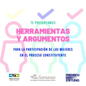 KIT CONSTITUYENTE para la participación activa de las mujeres en el proceso constituyente