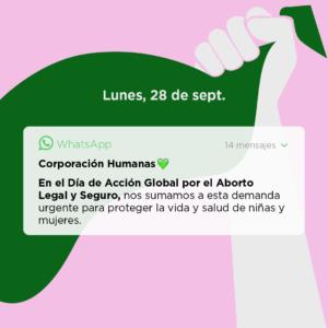 Campaña #28S – Día de Acción Global por el acceso al Aborto Legal y Seguro