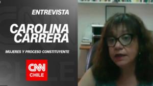 """Carolina Carrera sobre las mujeres y el proceso constituyente: """"La actual Constitución no nos reconoce"""""""