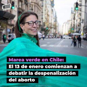 Chile comienza la tramitación del proyecto de despenalización del aborto