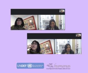 Corporación Humanas sostiene reunión con representante del Servicio Nacional de la Mujer y Equidad de Género